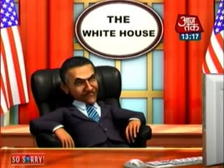 So Sorry: Modi's foreign visits, Obama's nightmare video song
